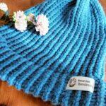 ニットメーカーで作る──極太毛糸のニット帽