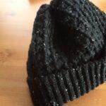 かぎ編みで棒針編み風ニット帽