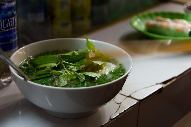 [また食べたい]5分でたいらげたパクチー山盛りのフォー